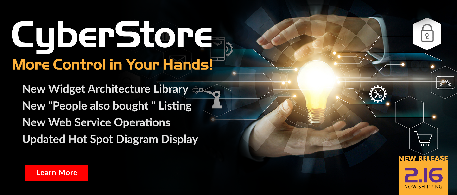 Feel the Power of CyberStore version 2.16  More Control In Your Hands